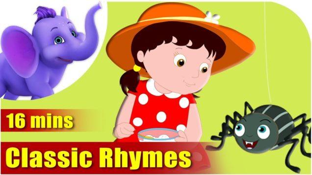Nursery Rhymes Vol1 – Collection of Twenty Rhymes