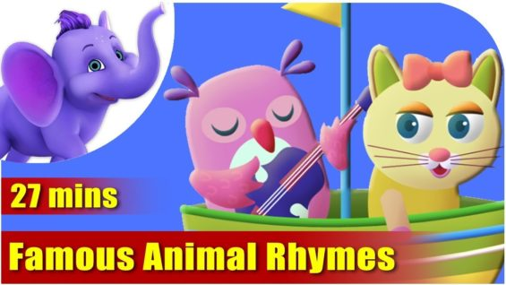 Animal Rhymes Volume 1 – Ultra HD (4K) Best Collection of Rhymes for Children in English