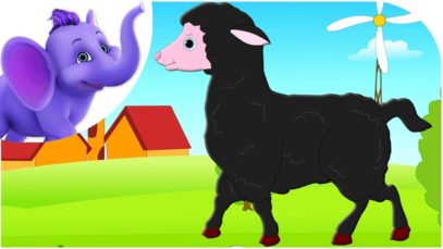 Baa Baa Black Sheep in Hindi