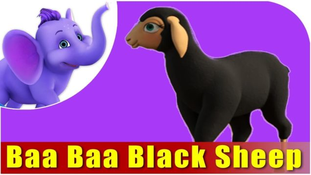 Baa Baa Black Sheep Nursery Rhyme in 4K