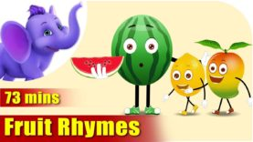 Fruit Rhymes – Best Collection of Rhymes for Children in English