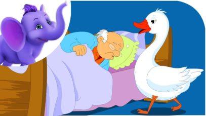 Goosey, Goosey, Gander in Hindi