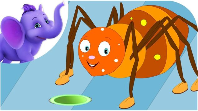 Incy Wincy Spider in Hindi