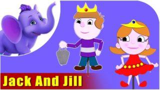 Jack and Jill Nursery Rhyme in 4K
