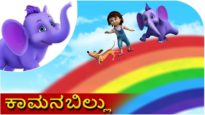 ಕಾಮನಬಿಲ್ಲು ( Kaamana Billu ) | Kannada Rhyme