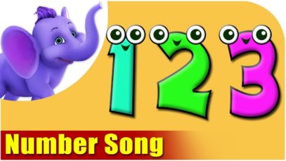 Number Song in 3D