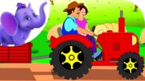 The Farmer in the Dell – Nursery Rhyme with Karaoke