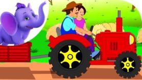 The Farmer in the Dell – Nursery Rhyme with Karaoke