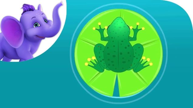 This Little Froggy – Nursery Rhyme with Karaoke