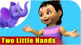 Two Little Hands – Nursery Rhyme