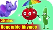 Vegetable Rhymes – Best Collection of Rhymes for Children in English