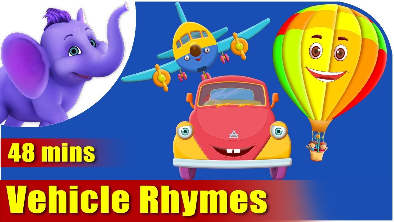 Vehicle Rhymes – Best Collection of Rhymes for Children in English