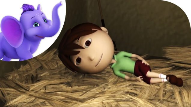 A Little Boy in the Barn – Nursery Rhyme in 3D