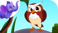 A Wise Old Owl – Nursery Rhyme with Karaoke