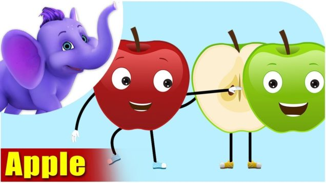 Apple – Fruit Rhyme