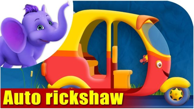Auto rickshaw – Vehicle Rhyme