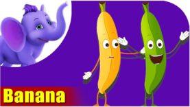 Banana – Fruit Rhyme