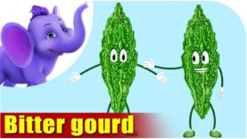 Bitter gourd – Vegetable Rhyme