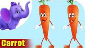 Carrot – Vegetable Rhyme