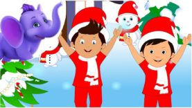 Christmas comes but once a year – Nursery Rhyme with Karaoke