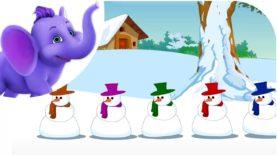 Christmas Jingles : Five Tubby Snowmen