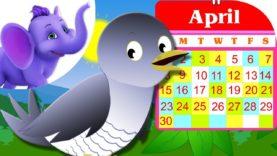 Cuckoo Cuckoo – Nursery Rhyme with Karaoke