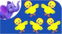 Five Little Ducks – Nursery Rhyme with Karaoke