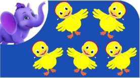 Five Little Ducks – Nursery Rhyme with Karaoke