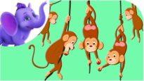 Five Little Monkeys – Nursery Rhyme