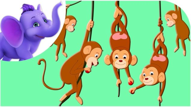 Five Little Monkeys – Nursery Rhyme