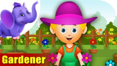 Gardener – Rhymes on Profession