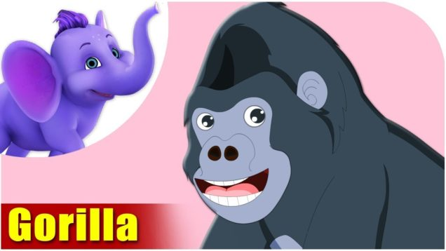 Gorilla – Animal Rhymes in Ultra HD (4K)