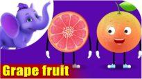Grape fruit – Fruit Rhyme in Ultra HD (4K)