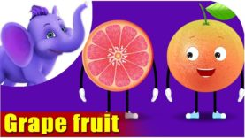 Grape fruit – Fruit Rhyme in Ultra HD (4K)