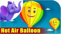 Hot Air Balloon – Vehicle Rhyme