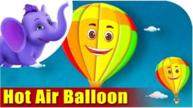 Hot Air Balloon – Vehicle Rhyme