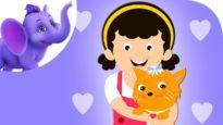 I Love Little Pussy – Nursery Rhyme with Karaoke