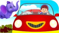 I Love My Red Car – Nursery Rhyme with Karaoke