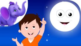 I See The Moon – Nursery Rhyme with Karaoke