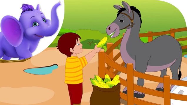 If I had a Donkey – Nursery Rhyme with Lyrics & Karaoke