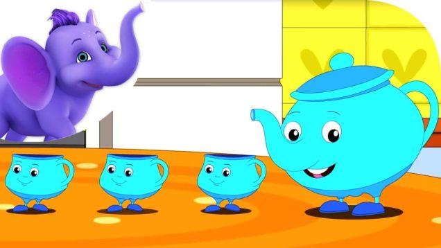 I'm a Little Tea Pot – Nursery Rhyme with Karaoke