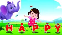 I'm with Happy – Nursery Rhyme with Karaoke