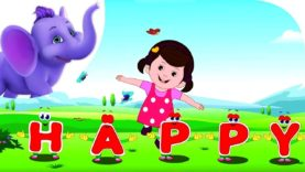 I'm with Happy – Nursery Rhyme with Karaoke