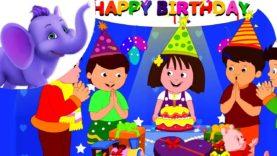 It's Your Happy Birthday – Nursery Rhyme with Karaoke