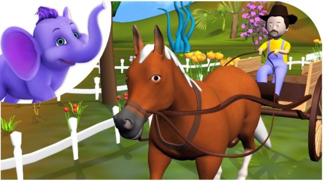 I've got a Horse – Nursery Rhyme with Karaoke