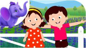 Lavender's Blue – Nursery Rhyme with Karaoke