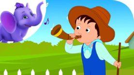 Little Boy Blue – Nursery Rhyme with Karaoke