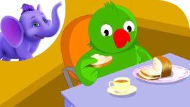 Little Poll Parrot – Nursery Rhyme