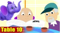 Multiplication Table Rhymes – Table 10 in Ultra HD (4K)