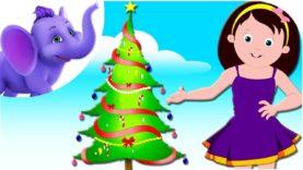 O Beautiful Christmas Tree – Nursery Rhyme with Karaoke